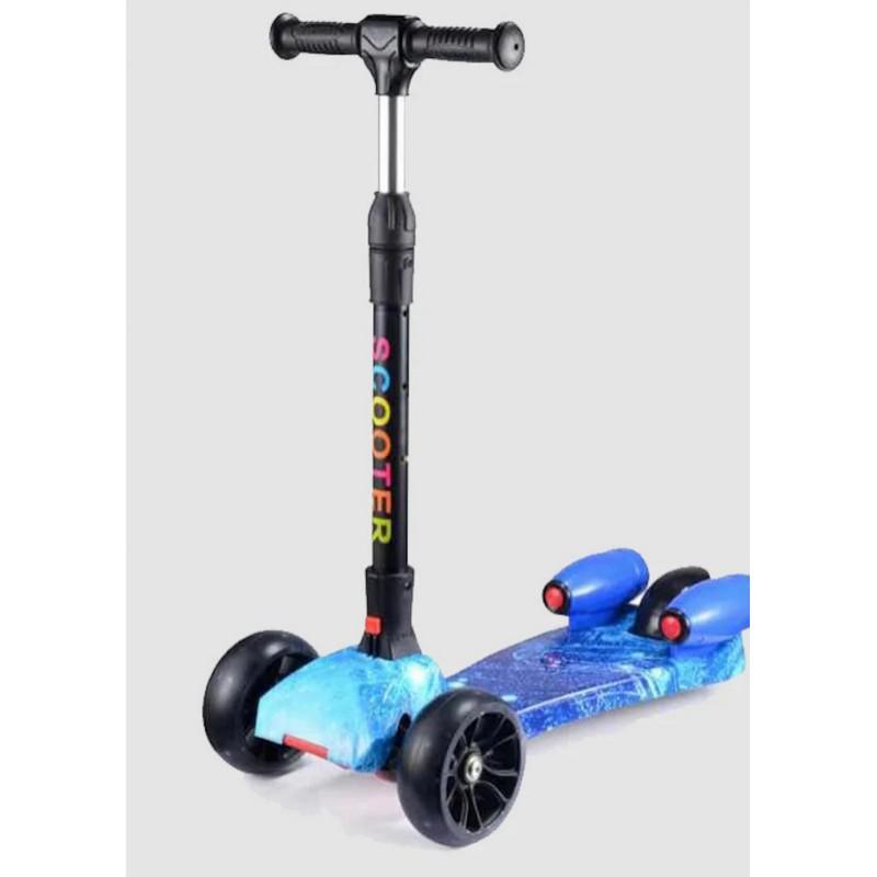 Mini Jet Çocuk Scooter + Bluetooth'lu + Işıklı Teker